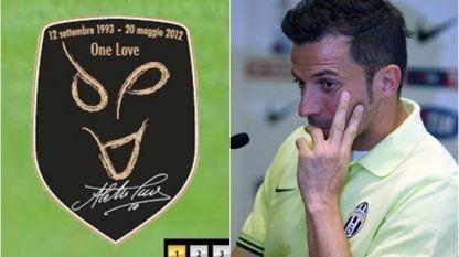 """Del Piero: """"Todos los esfuerzos están puestos en alzar la Coppa"""""""