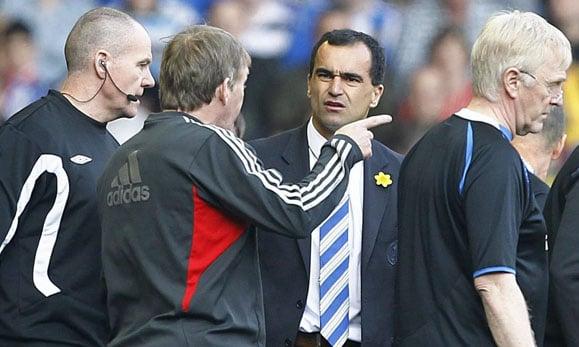 Roberto Martínez se reúne con los dueños del Liverpool