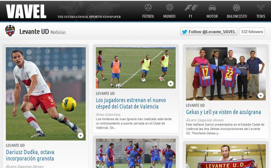 Disfruta de la temporada con @Levante_VAVEL