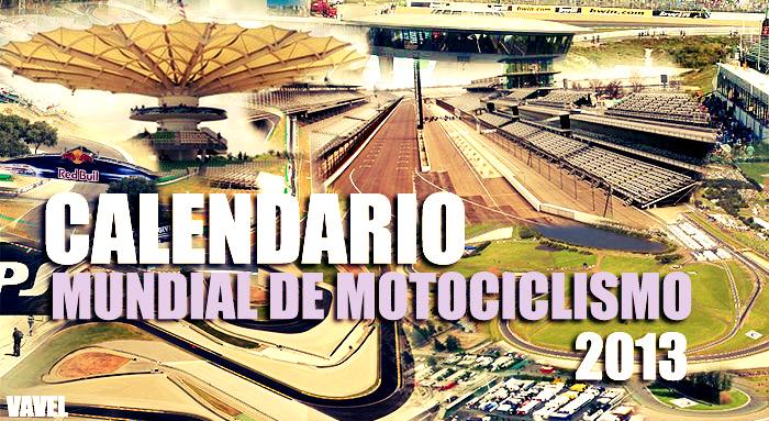 Calendario del Mundial de Motociclismo 2013