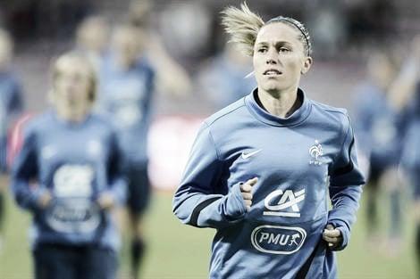 Camille Abily, objectif Suède