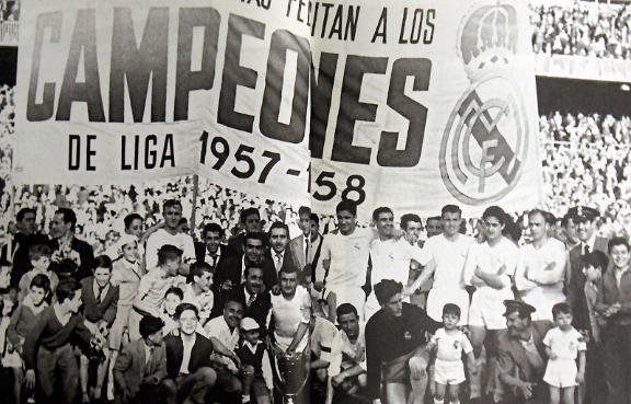 Serial: todas las Ligas del Real Madrid (I)