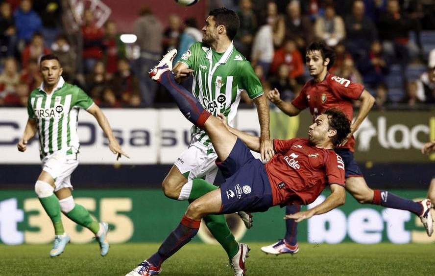 Osasuna - Betis: puntuaciones de Osasuna, jornada 8