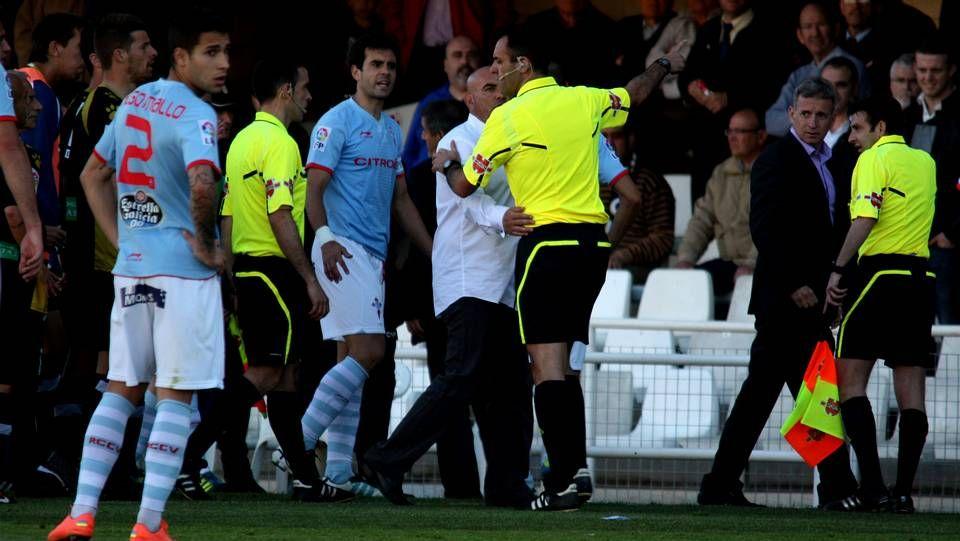 FC Cartagena 1 - 1 Celta: partido suspendido en el minuto 59