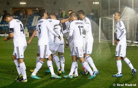 El Castilla remonta ante el Hércules y se hace fuerte como visitante