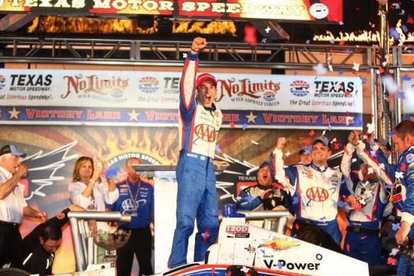 IndyCar - Texas : Cavalier seul de Castroneves