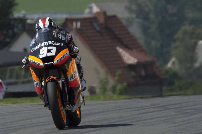 Márquez repite primera posición en Alemania