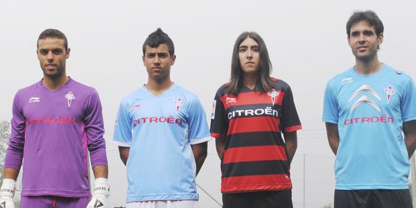 El Celta presenta la vestimenta 2012/2013