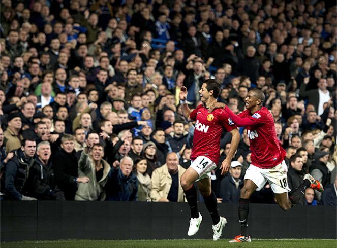 El United finalmente se llevó los tres puntos de Stamford Bridge