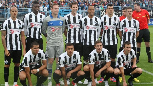Newcastle s'incline face à Chemnitzer en match de préparation