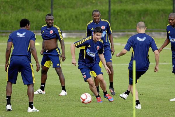 La Selección Colombia volvió a entrenamientos