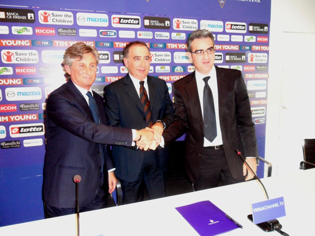 "Pradé: ""La Fiorentina è un punto di arrivo"""