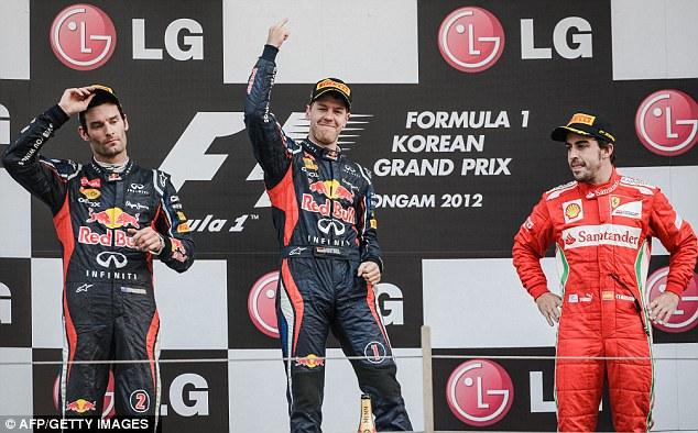 Vettel vence en Corea y se pone líder