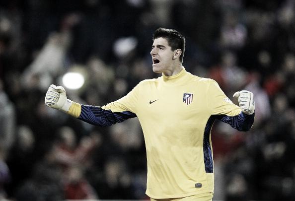 Thibaut Courtois, el guardián de la garita del Atlético de Madrid