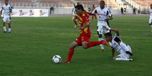 El Deportivo Anzoategui se lleva los tres puntos ante el Zamora
