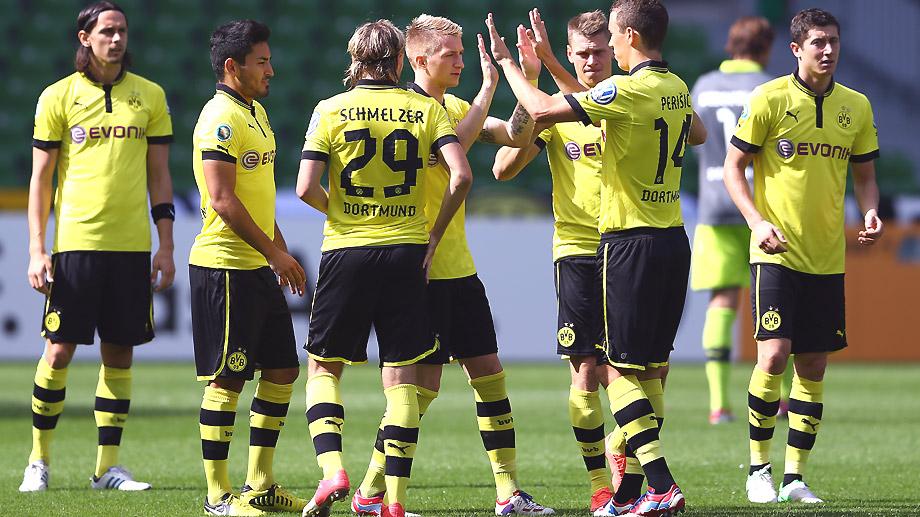 Victoria sin esfuerzo del Dortmund en la copa alemana