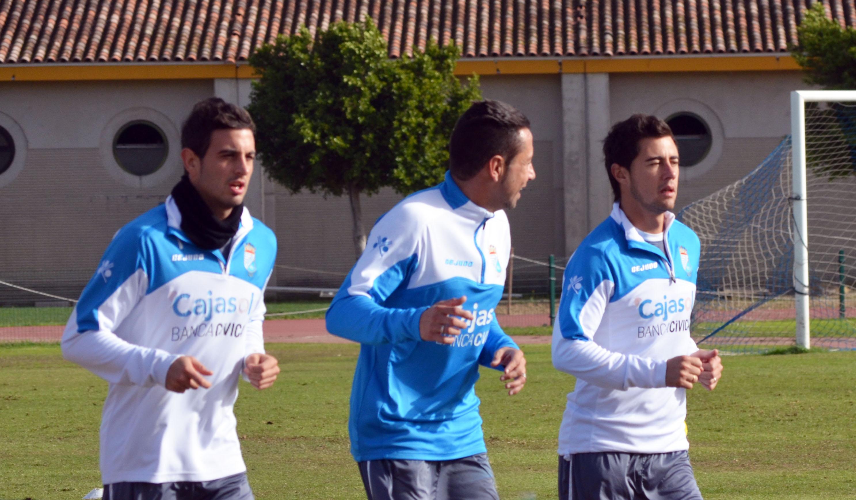 José Mari espera estar disponible para jugar contra el Córdoba