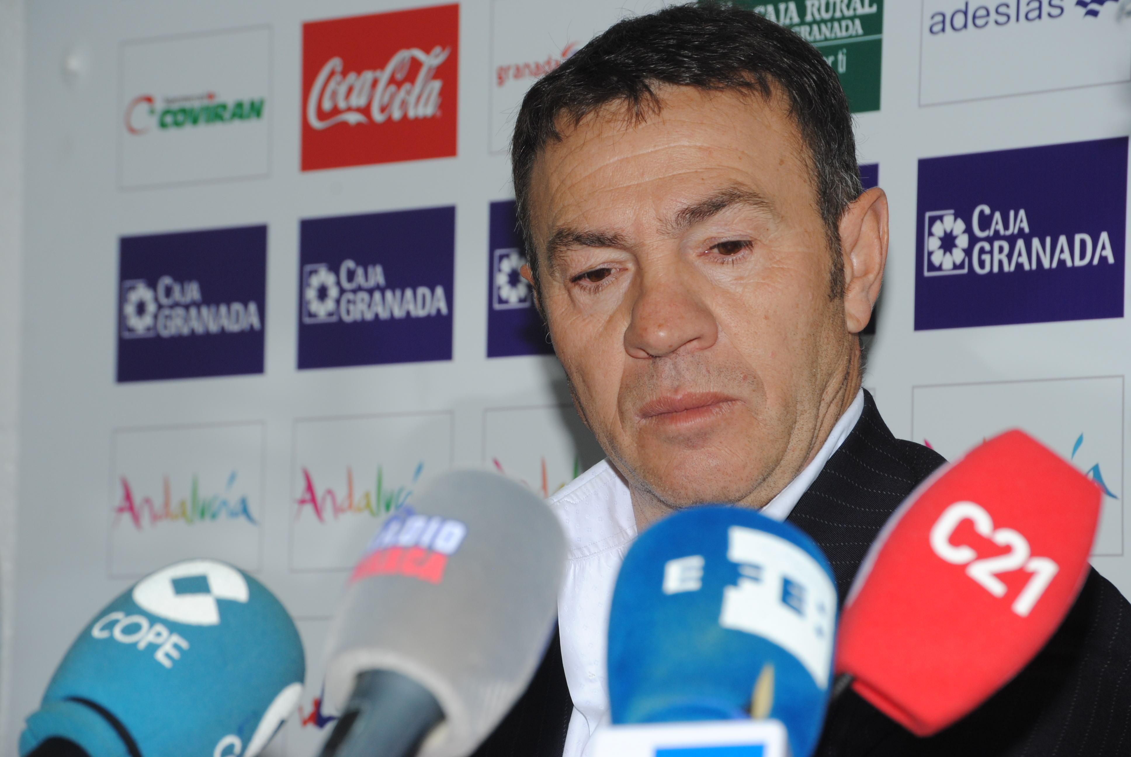 """Abel Resino: """"El Granada está capacitado para quedarse en Primera Division"""""""