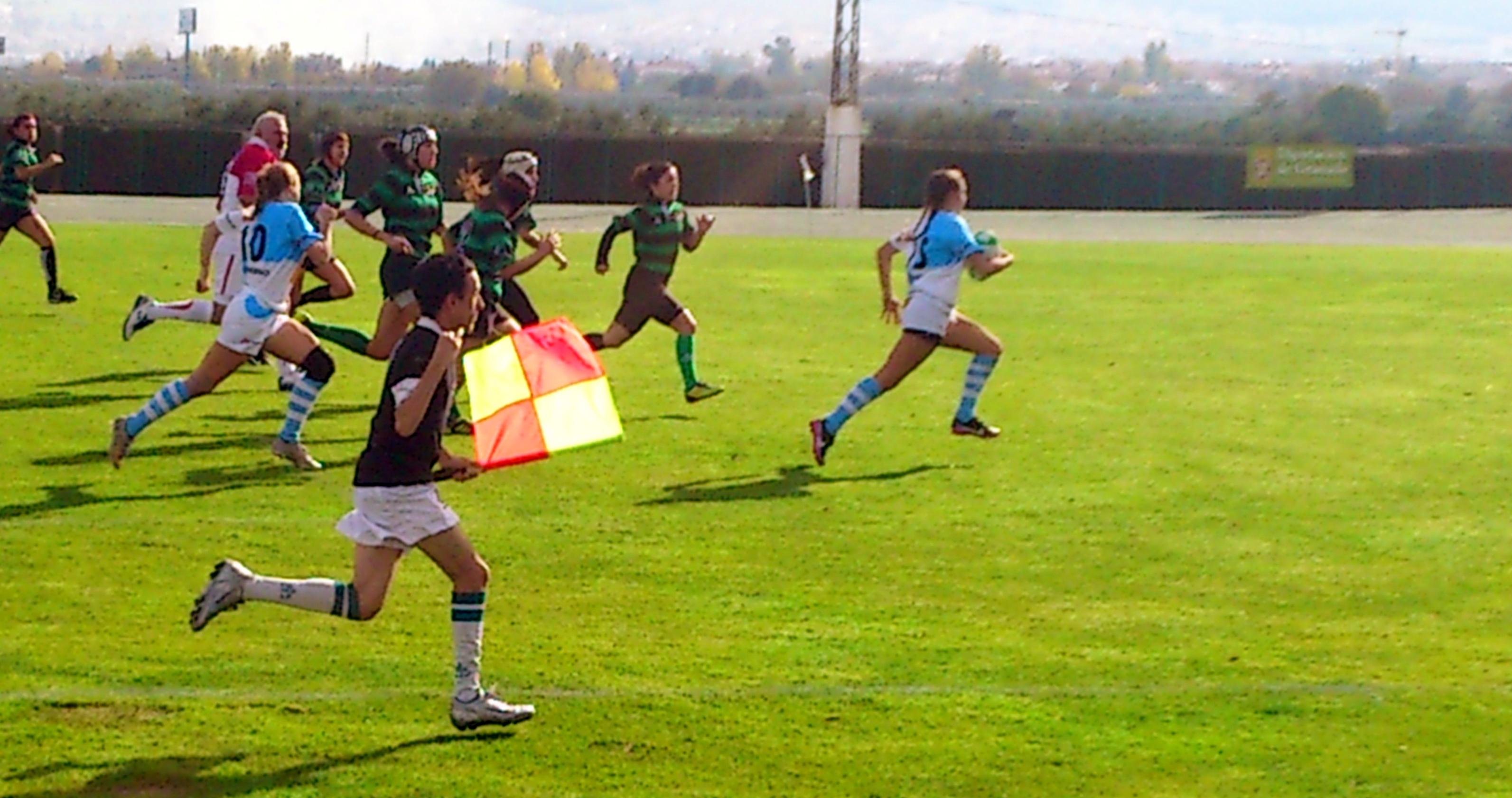 El Rugby Femenino, contra la violencia de género