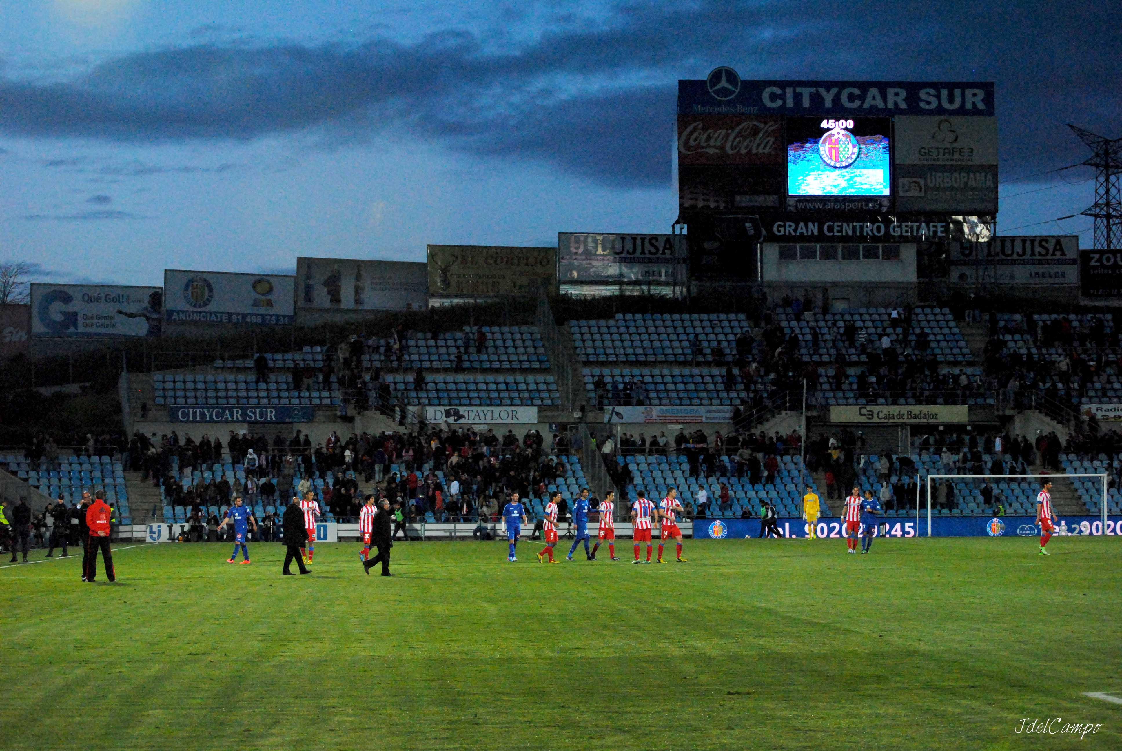 Fotogalería: Getafe - Atlético de Madrid, en imágenes
