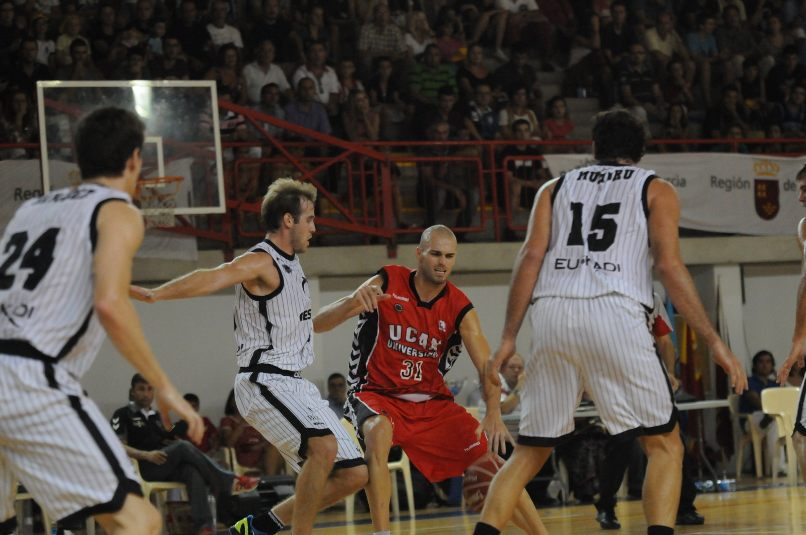 Bilbao Basket - UCAM Murcia: victoria y estabilidad