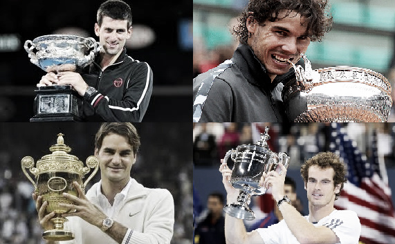 ATP 2012: los cuatro fantásticos