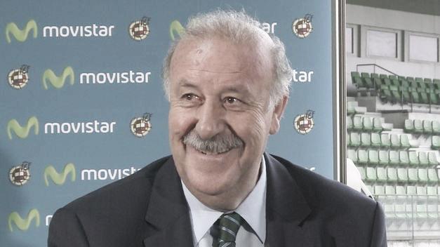 """Del Bosque: """"Me gustaría que el Balón de Oro fuera para Iniesta"""""""