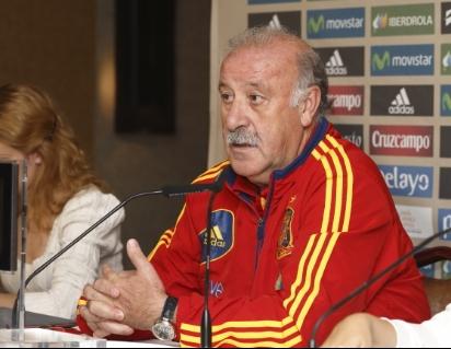 """Del Bosque: """"No conozco a jugadores que hagan teatro"""""""