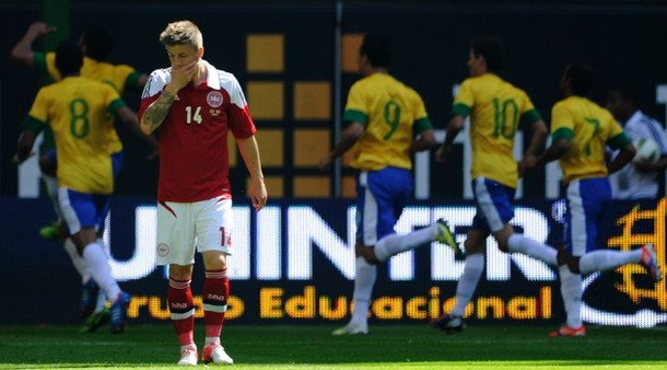 Hulk capitalises on Denmark errors