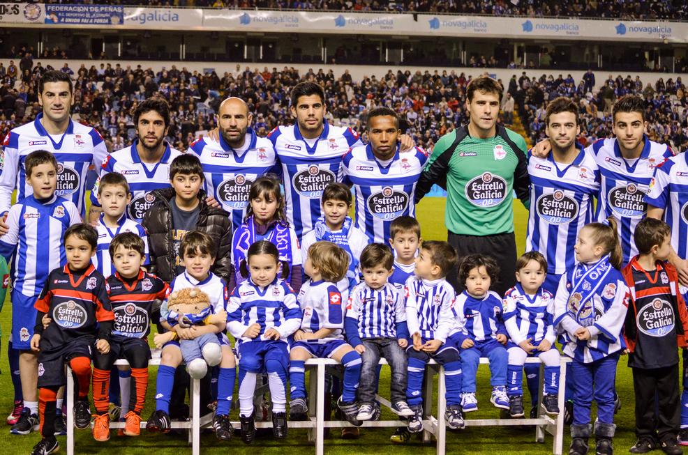Dorsales R.C.Deportivo de La Coruña 2012-13