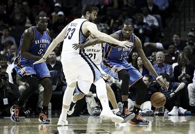 Oklahoma City Thunder – Memphis Grizzlies, así lo vivimos