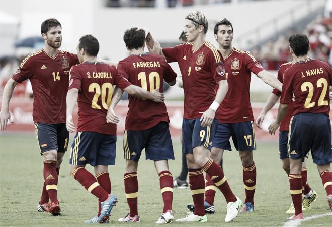 España vence sin sudar ante un Puerto Rico que se conformó con la derrota por la mínima