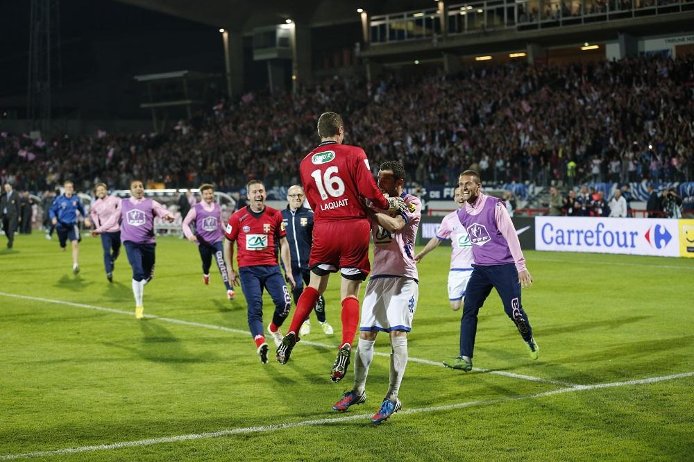 Evian TG anéantit les espoirs de doublé du club de la capitale !