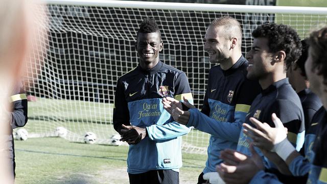 Edgar Ié recibe el alta médica y podría debutar ante el Huesca