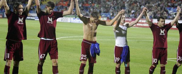 El Rubin Kazán conquista la Supercopa rusa