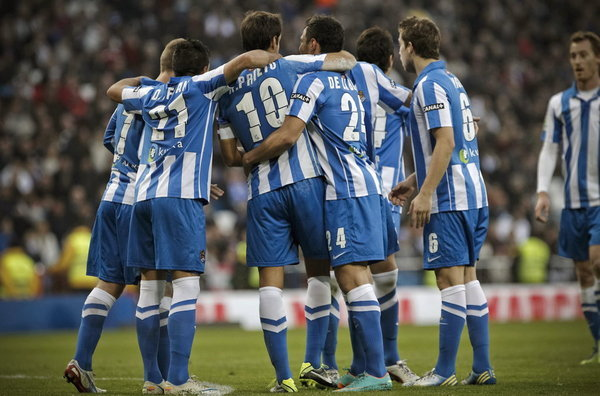 Puntuaciones de la Real Sociedad temporada 2012/2013