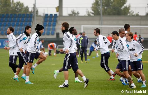 El Madrid entrena y Marcelo vuelve a la capital