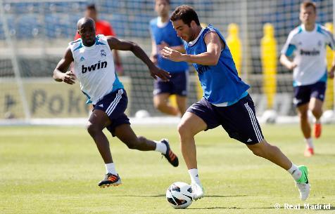 El Real Madrid sigue trabajando el apartado físico