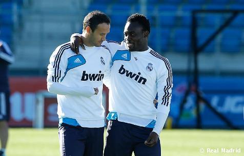 El Real Madrid regresó a los entrenamientos