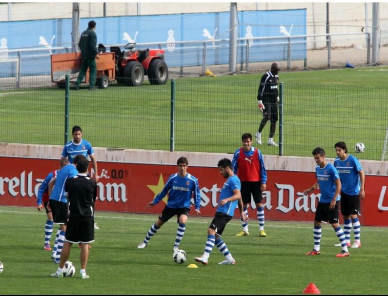 El Espanyol vuelve mañana a los entrenamientos
