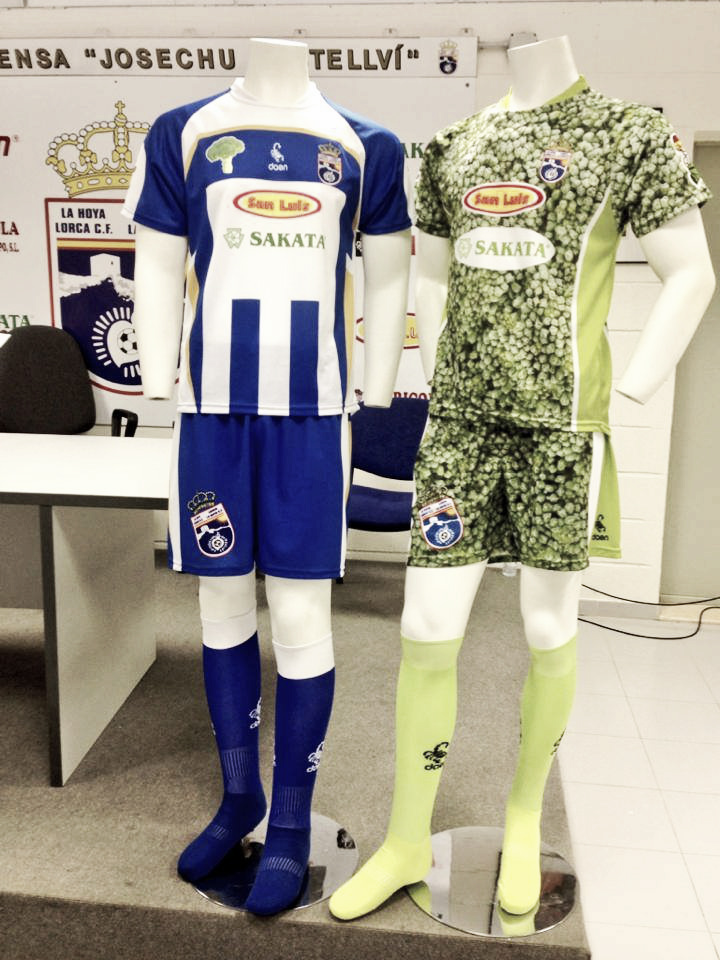 La Hoya Lorca presenta las equipaciones para su debut en Segunda B