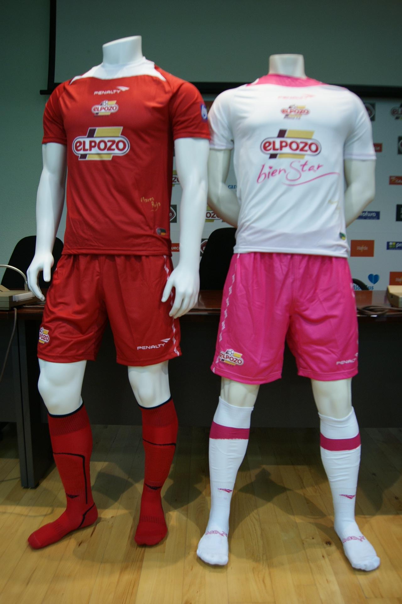 ElPozo Murcia presenta su nueva equipación