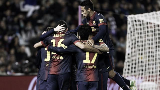 Real Valladolid - FC Barcelona: puntuaciones FC Barcelona, jornada 17