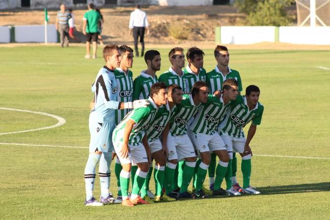 El Betis golea al Olhanense portugués (4-0)