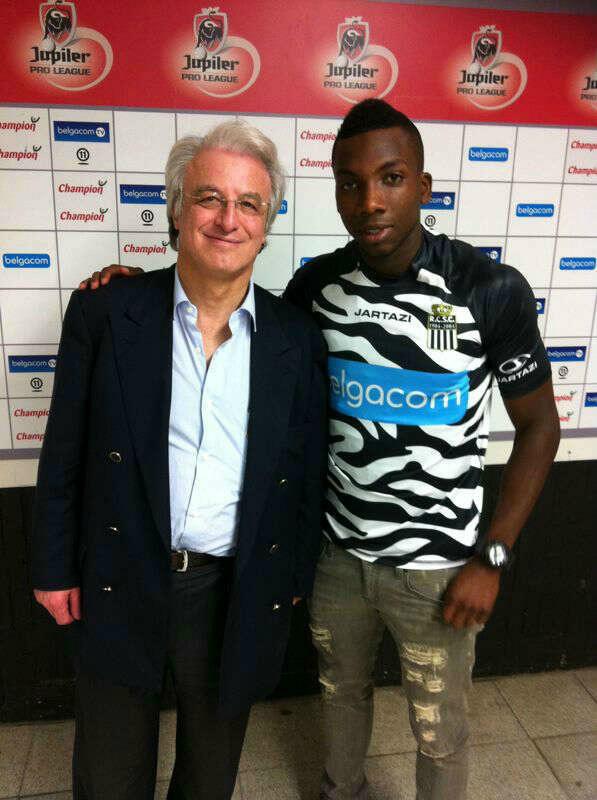 Escoe ya fue presentado en el Charleroi de Bélgica