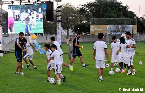 La Fundación Realmadrid, candidata a los premios Paz y Deporte 2012
