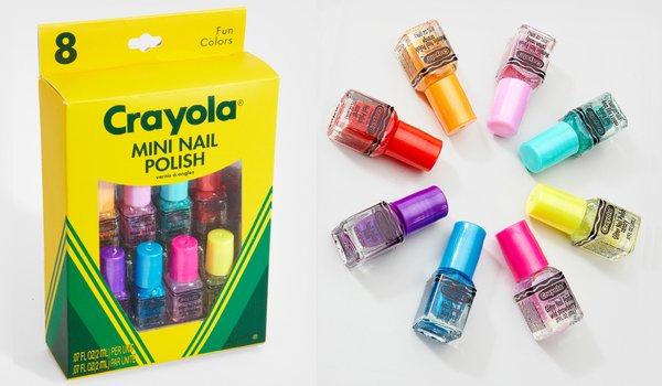 Crayola colorea tus uñas