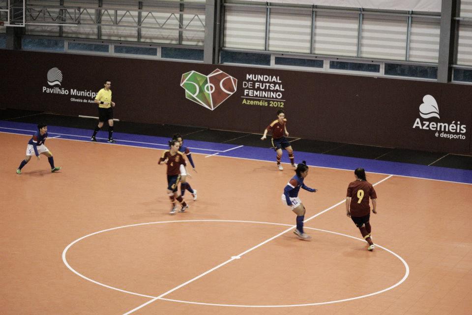 III Mundial de fútbol sala femenino: semifinales a la vista