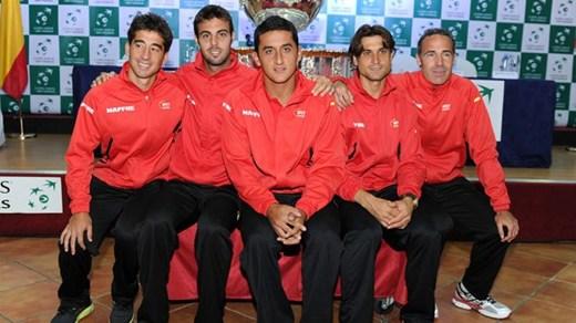 Ferrer, Almagro, Granollers y Marc López repiten en la Davis