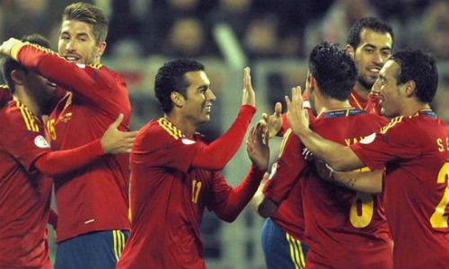 Bielorrusia - España, puntuaciones de España